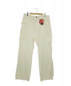 EMPORIO ARMANI(エンポリオアルマーニ)の古着「カーゴパンツ」|ホワイト