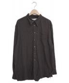 Burberrys(バーバリーズ)の古着「[古着]ビッグシルエットシャツ」|ブラウン