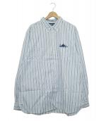 RALPH LAUREN(ラルフローレン)の古着「ボタンダウンシャツ」 ブルー