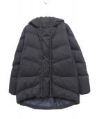 GOLDWIN(ゴールドウィン)の古着「フーデッドダウンコート」|ブラック