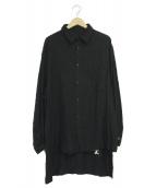 Danke schon(ダンケシェーン)の古着「RESURRECTIONシャツ」|ブラック