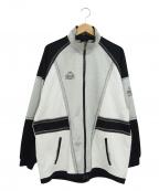 KAPPA(カッパ)の古着「[古着]90'sジャージトップ」|グレー×ブラック
