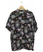 Sun Surf(サンサーフ)の古着「HANABIシャツ」 ブラック