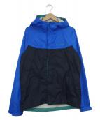 Columbia(コロンビア)の古着「ワバシュジャケット」|ブルー×ネイビー