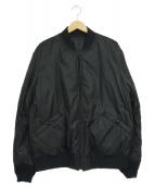 UNDERCOVER(アンダーカバー)の古着「MA-1リバーシブルブルゾンジャケット」|ブラック