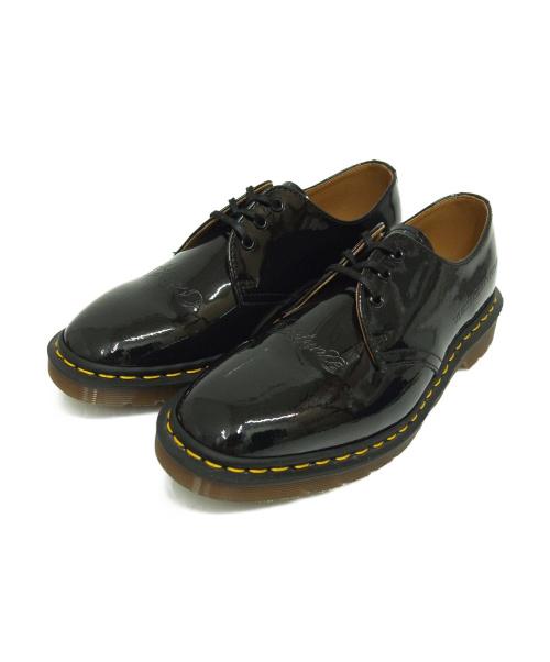 Dr.Martens×UNDERCOVER(ドクターマーチン×アンダーカバー)Dr.Martens×UNDERCOVER (ドクターマーチン×アンダーカバー) エナメルシューズ ブラック サイズ:UK8  UCX4F03の古着・服飾アイテム