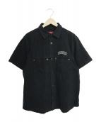 Supreme(シュプリーム)の古着「デニムシャツ」|ブラック
