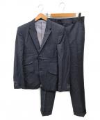 TAKEO KIKUCHI(タケオキクチ)の古着「3ピースセットアップスーツ」 ネイビー