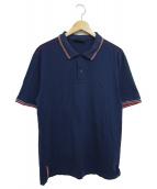 PRADA SPORTS(プラダスポーツ)の古着「ポロシャツ」|ネイビー