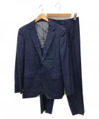 TAKEO KIKUCHI(タケオキクチ)の古着「4ピーススーツ」 ネイビー