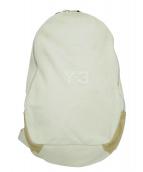 Y-3(ワイスリー)の古着「ロゴバックパック」|ホワイト