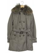 LAUTRE AMONT(ロートレアモン)の古着「ファー付ダウンコート」 グレー