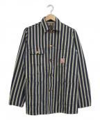 東洋エンタープライズ(トウヨウエンタープライズ)の古着「ワークジャケット」|ネイビー×ホワイト