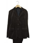 MR.GENTLEMAN(ミスタージェントルマン)の古着「コーデュロイセットアップスーツ」 ブラウン