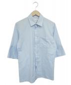 Martin Margiela 10(マルタンマルジェラ10)の古着「半袖シャツ」|ブルー