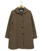 Jocomomola(ホコモモラ)の古着「ロングコート」 ベージュ
