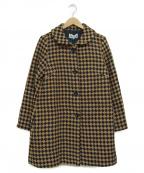 Jocomomola(ホコモモラ)の古着「ロングコート」|ベージュ