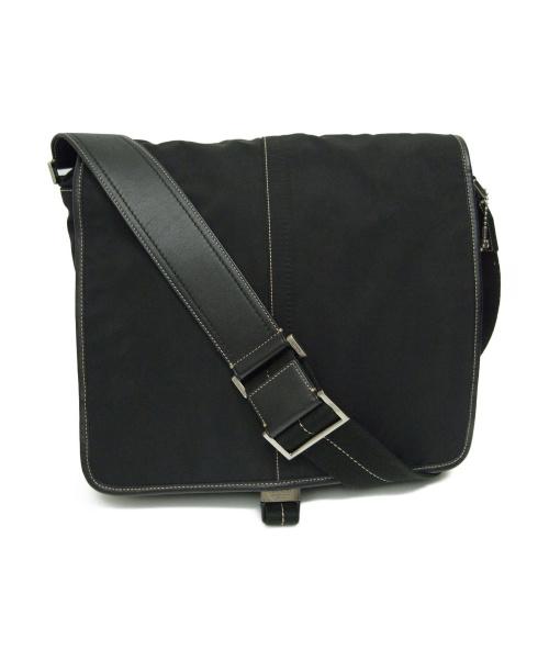 COACH(コーチ)COACH (コーチ) メッセンジャーバッグ ブラック サイズ:下記参照 F05300の古着・服飾アイテム