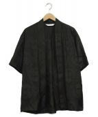 SASQUATCHfabrix.(サスクワァッチファブリックス)の古着「オリエンタルドラゴン羽織シャツ」|ブラック