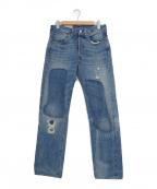 LEVIS VINTAGE CLOTHING()の古着「リジットデニム」|インディゴ