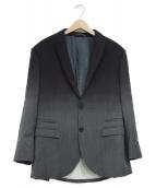 NEIL BARRETT(ニールバレット)の古着「グラデーションテーラードジャケット」 ブラック×ネイビー