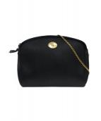 Christian Dior(クリスチャンディオール)の古着「チェーンショルダーバッグ」 ブラック