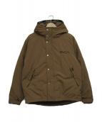 RVCA(ルーカ)の古着「中綿ジャケット」|ブラウン