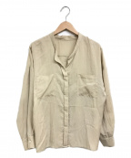 Spick and Span(スピックアンドスパン)の古着「リヨセルワイドナイロンシャツ」|アイボリー