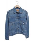 Hysteric Glamour(ヒステリックグラマー)の古着「デニムジャケット」|インディゴ