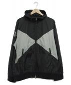 X-LARGE(エクストララージ)の古着「ナイロンジャケット」|ブラック×グレー