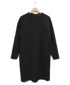 YOKO CHAN(ヨーコチャン)の古着「ロングスリーブワンピース」|ブラック