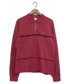 LACOSTE × Supreme(ラコステ×シュプリーム)の古着「ポロシャツ」|ピンク