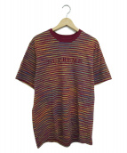 Supreme(シュプリーム)の古着「ボーダーTシャツ」|レッド