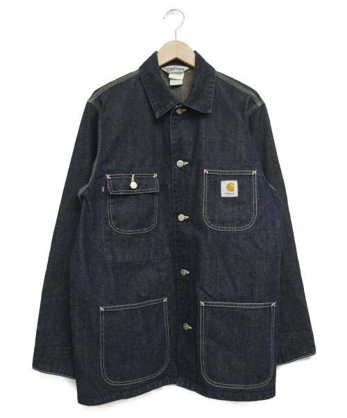 CarHartt(カーハート)CarHartt (カーハート) カバーオール インディゴ サイズ:Lの古着・服飾アイテム