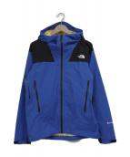 THE NORTH FACE(ザノースフェイス)の古着「スーパークライムジャケット」|ブルー×ブラック