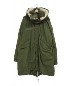 US ARMY(ユーエスアーミー)の古着「[古着]ライナー付M-65モッズコート」 カーキ