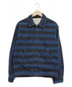 TENDERLOIN(テンダーロイン)の古着「コーデュロイジャケット」 パープル×ネイビー