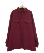 WOOLRICH(ウールリッチ)の古着「ワークシャツ」|レッド