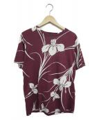 ()の古着「アロハTシャツ」|ボルドー