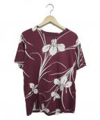 N°21(ヌメロヴェントゥーノ)の古着「アロハTシャツ」|ボルドー