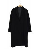 SHIPS(シップス)の古着「ジャージーチェスターコート」|ブラック