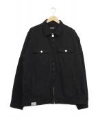 X-LARGE(エクストララージ)の古着「ワークジャケット」|ブラック