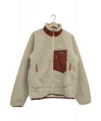 Patagonia(パタゴニア)の古着「クラシックレトロXジャケット」|アイボリー×レッド