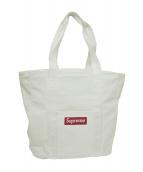 Supreme(シュプリーム)の古着「キャンバストートバッグ」|ホワイト