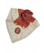 BVLGARI(ブルガリ)の古着「シルクスカーフ」|レッド