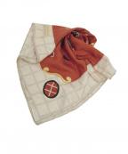 BVLGARI(ブルガリ)の古着「シルクスカーフ」 レッド