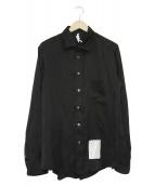 SOSHIOTSUKI(ソウシオオツキ)の古着「着物シャツ」 ブラック