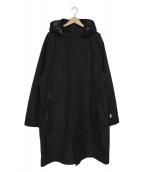 #FR2(エフアールツー)の古着「止水ファスナーナイロンコート」 ブラック