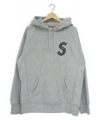 Supreme(シュプリーム)の古着「プルオーバーパーカー」|グレー