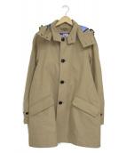 THE NORTHFACE PURPLELABEL(ザノースフェイスパープルレーベル)の古着「GORE-TEXステンカラーコート」|ベージュ